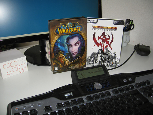 World of Warcraft vs Warhammer Online